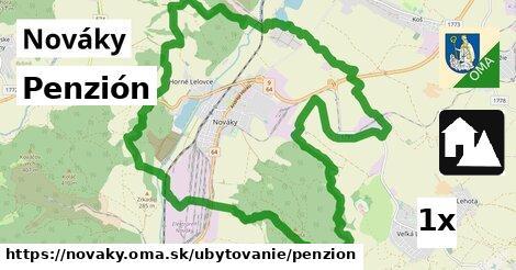 ilustračný obrázok k Penzión, Nováky