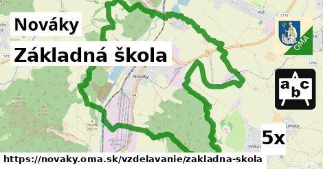 ilustračný obrázok k Základná škola, Nováky