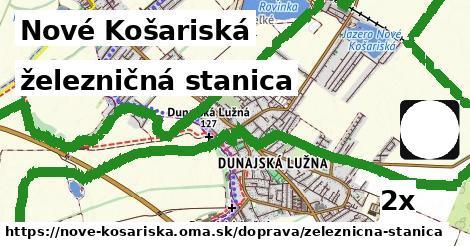 železničná stanica v Nové Košariská