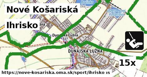 ihrisko v Nové Košariská