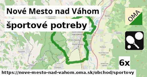 športové potreby, Nové Mesto nad Váhom