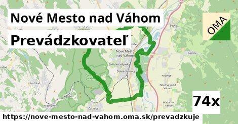 prevádzkovateľ v Nové Mesto nad Váhom
