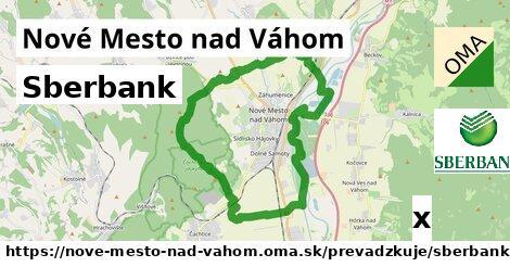 Sberbank v Nové Mesto nad Váhom
