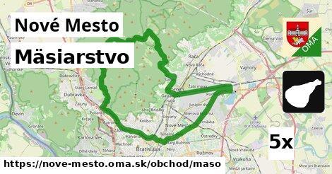 mäsiarstvo v Nové Mesto