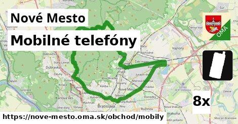 mobilné telefóny v Nové Mesto