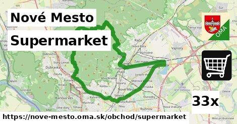 supermarket v Nové Mesto