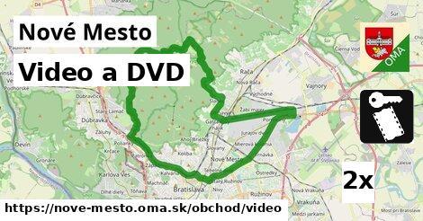 video a DVD v Nové Mesto