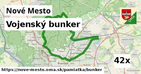 vojenský bunker v Nové Mesto