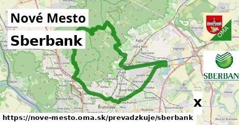 ilustračný obrázok k Sberbank, Nové Mesto