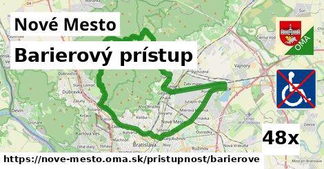 ilustračný obrázok k Barierový prístup, Nové Mesto