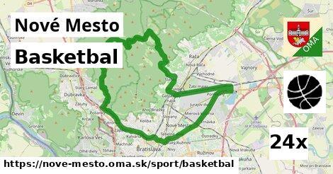 basketbal v Nové Mesto