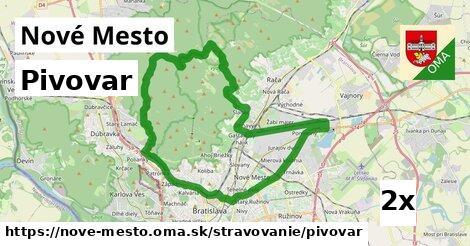 ilustračný obrázok k Pivovar, Nové Mesto