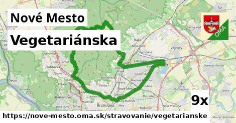 vegetariánska v Nové Mesto