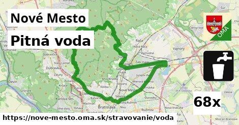 ilustračný obrázok k Pitná voda, Nové Mesto