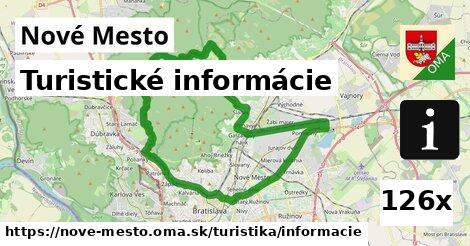 turistické informácie v Nové Mesto