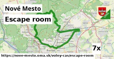 escape room v Nové Mesto