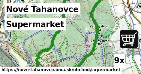 supermarket v Nové Ťahanovce