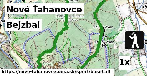 bejzbal v Nové Ťahanovce