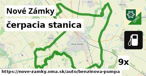 ilustračný obrázok k čerpacia stanica, Nové Zámky