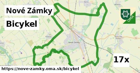 bicykel v Nové Zámky