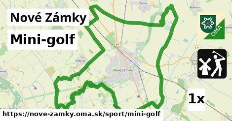 Mini-golf, Nové Zámky