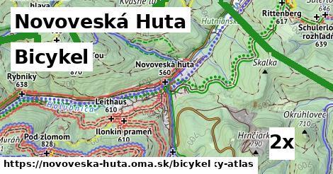 bicykel v Novoveská Huta
