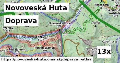 doprava v Novoveská Huta
