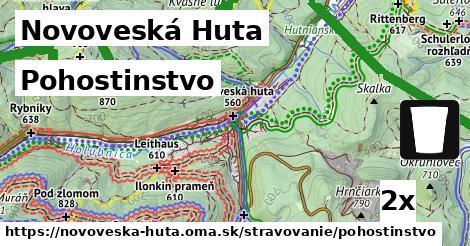 pohostinstvo v Novoveská Huta