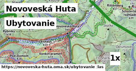 ubytovanie v Novoveská Huta