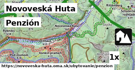penzión v Novoveská Huta
