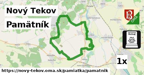 ilustračný obrázok k Pamätník, Nový Tekov