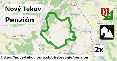 penzión v Nový Tekov