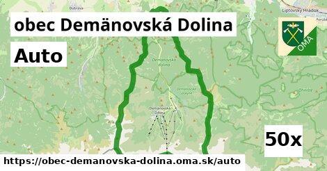 auto v obec Demänovská Dolina