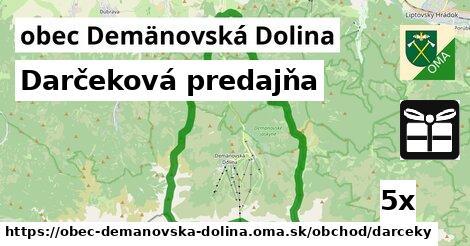 darčeková predajňa v obec Demänovská Dolina
