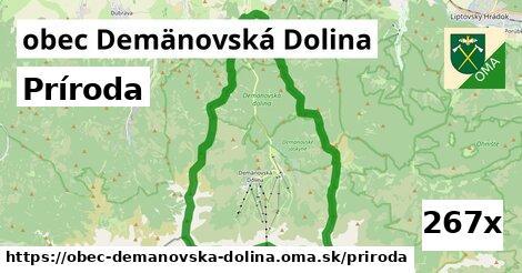 príroda v obec Demänovská Dolina