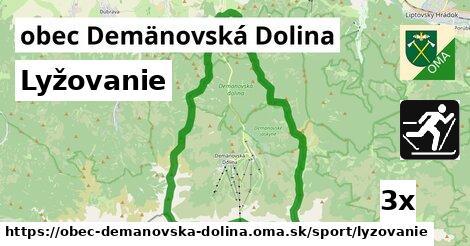 lyžovanie v obec Demänovská Dolina