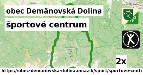 športové centrum v obec Demänovská Dolina
