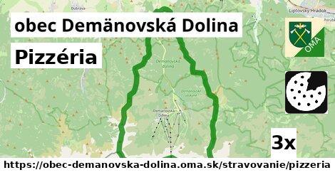 pizzéria v obec Demänovská Dolina