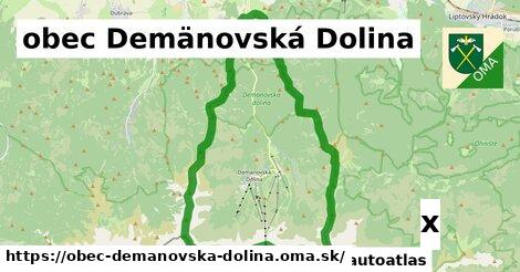 strom v obec Demänovská Dolina