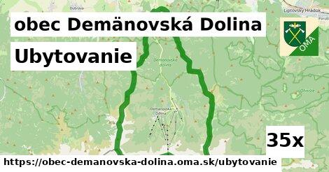 ubytovanie v obec Demänovská Dolina