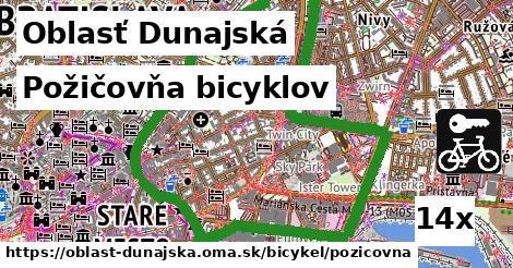 požičovňa bicyklov v Oblasť Dunajská
