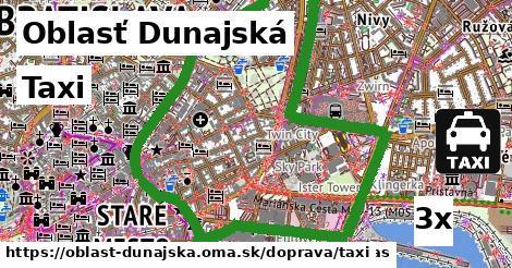 Taxi, Oblasť Dunajská