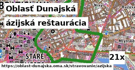 ilustračný obrázok k ázijská reštaurácia, Oblasť Dunajská