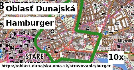 ilustračný obrázok k Hamburger, Oblasť Dunajská
