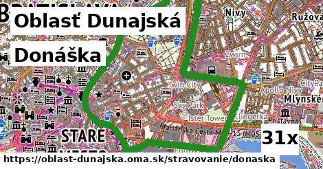 ilustračný obrázok k Donáška, Oblasť Dunajská