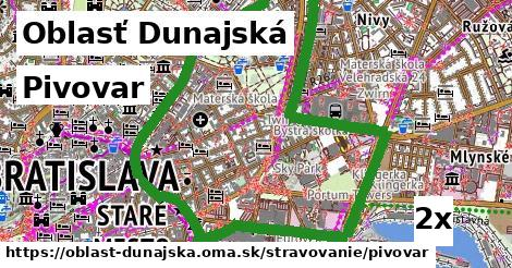 ilustračný obrázok k Pivovar, Oblasť Dunajská