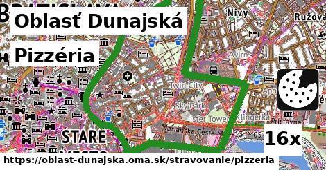 ilustračný obrázok k Pizzéria, Oblasť Dunajská