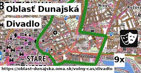 ilustračný obrázok k Divadlo, Oblasť Dunajská