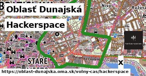 hackerspace v Oblasť Dunajská