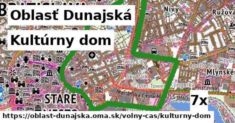 kultúrny dom v Oblasť Dunajská